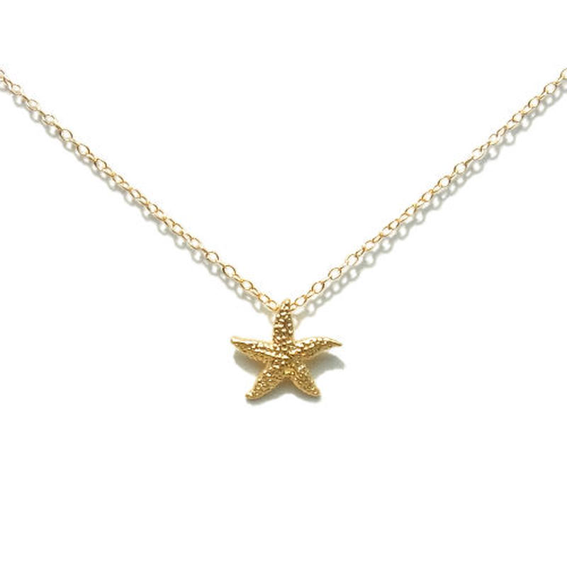 Skinny Necklace -Starfish- Type C