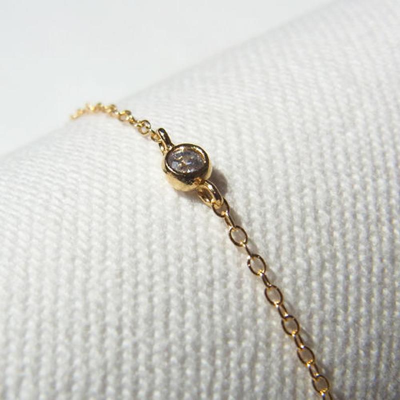 Skinny Zirconia Bracelet