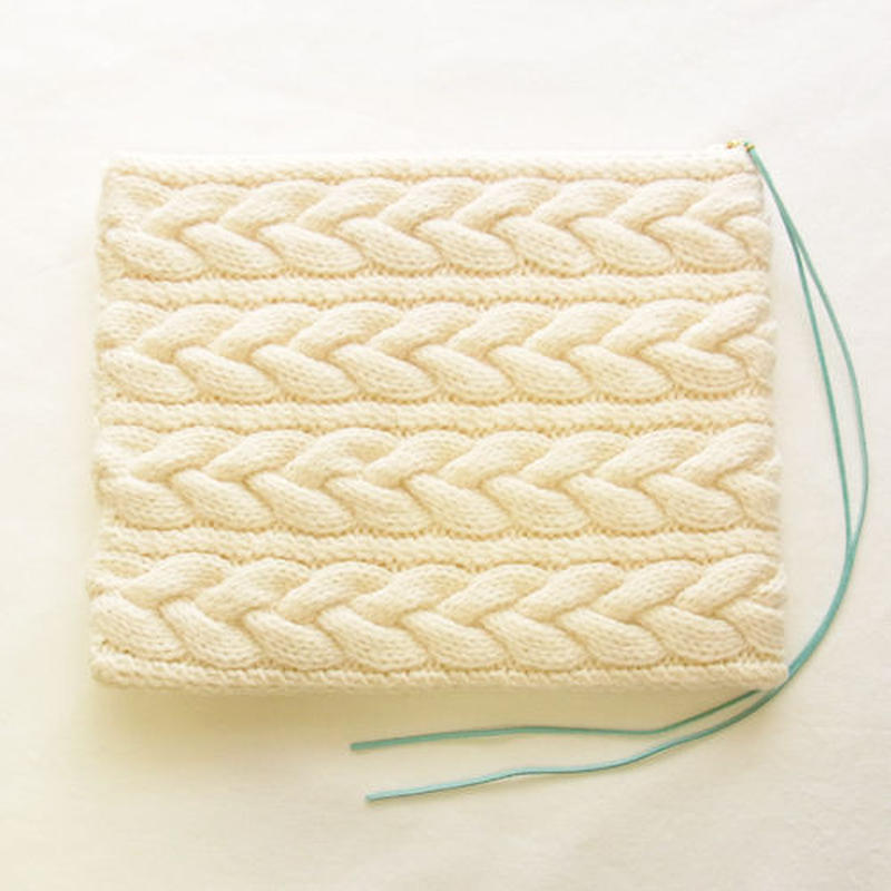Knit Clutch Bag