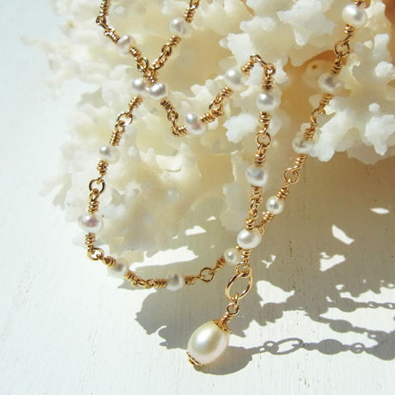 Tiny Pearl Necklace