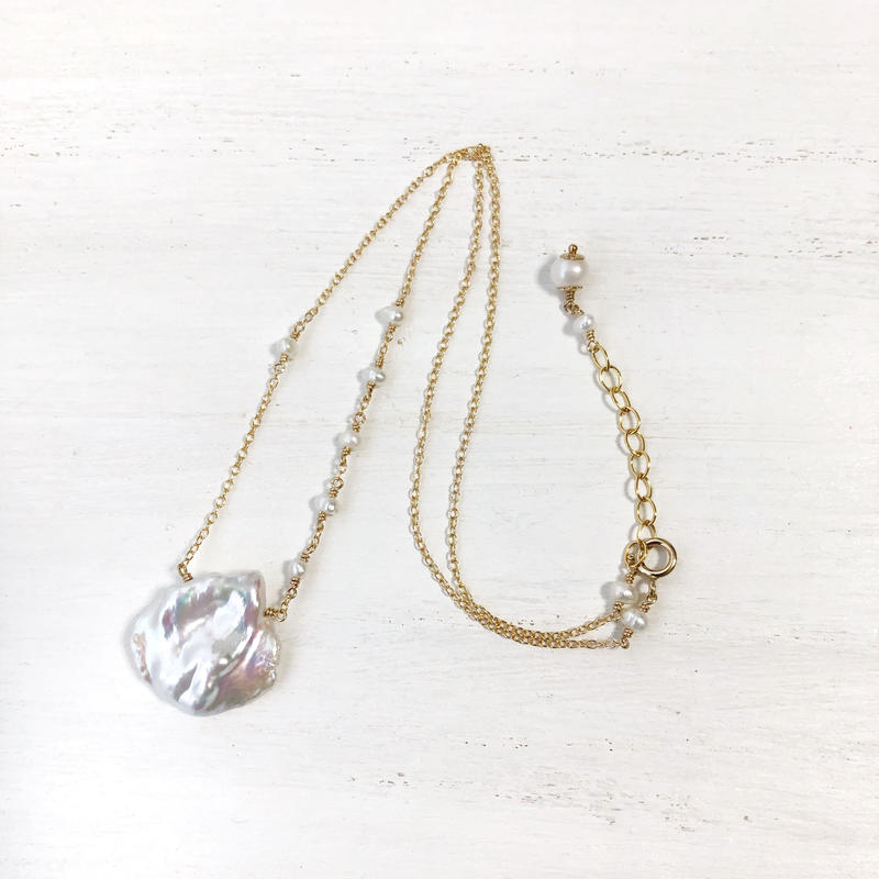 Pearl Necklace -no.1-