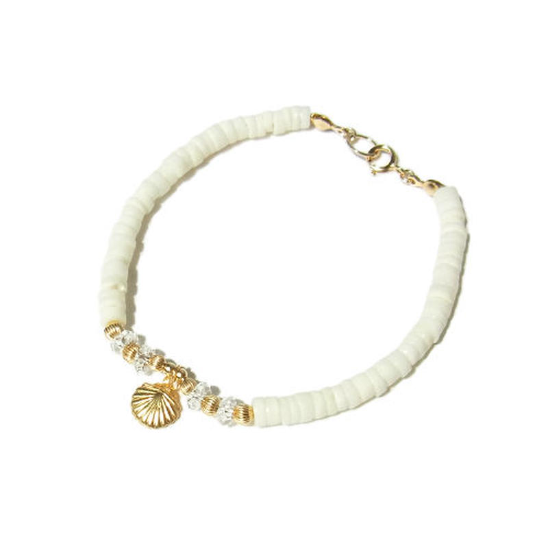 White Shell Bracelet
