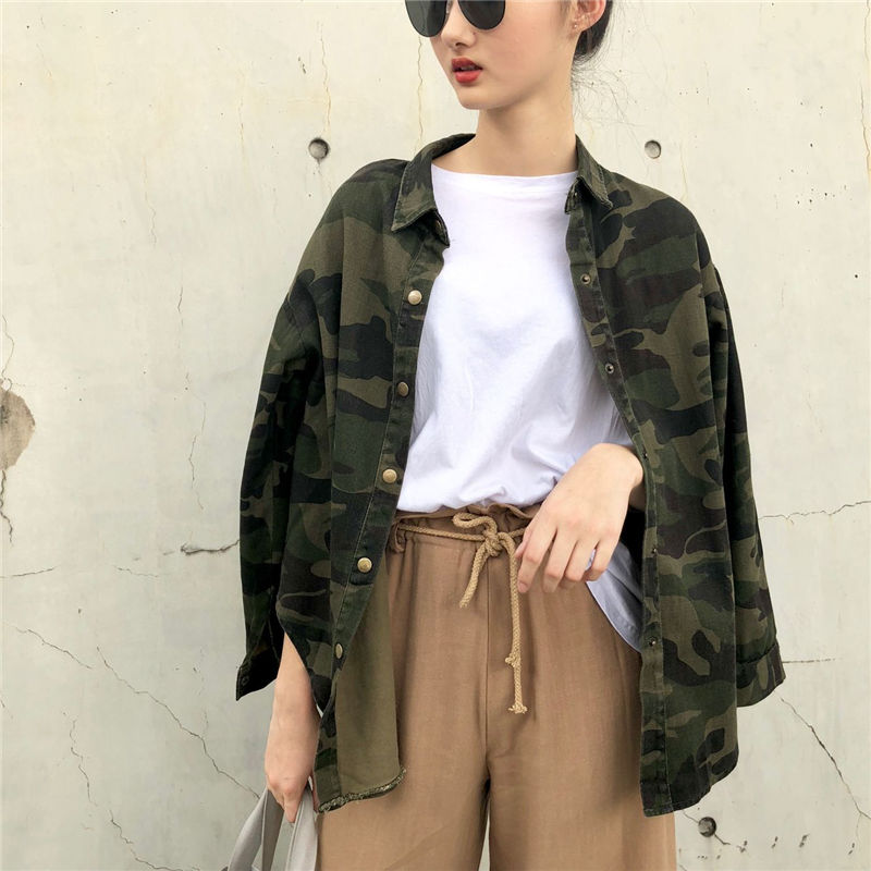 casual military jaket