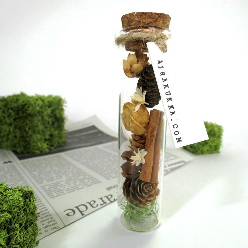 [ボトルフラワー] 木の実/Mサイズ