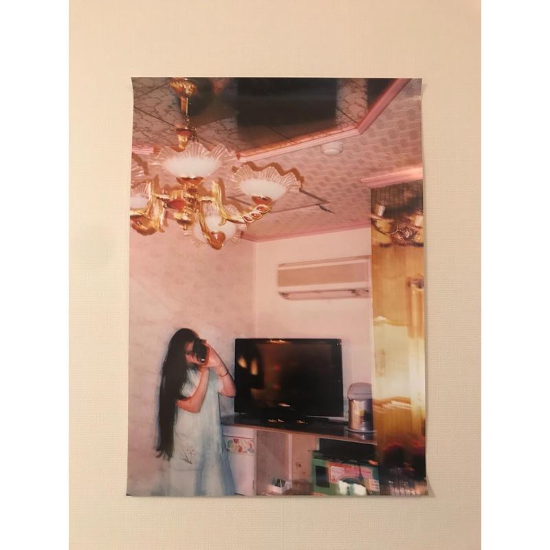 アイネ ポスター (展示品) ラブホテル 赤の部屋