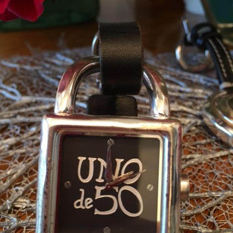 Uno de 50/ウノデシンクエンタ  腕時計【角形】(U-REL-161,162)