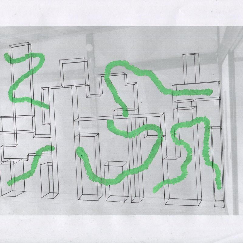 大山日歩     新興の園地    ドローイング 02