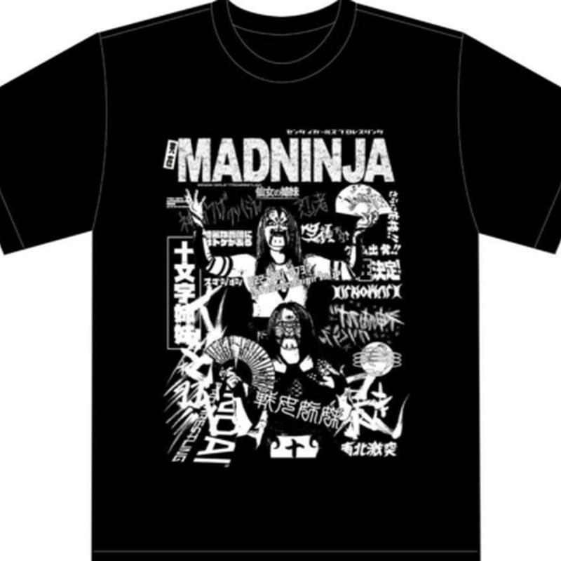 十文字姉妹Tシャツ MADNINJA