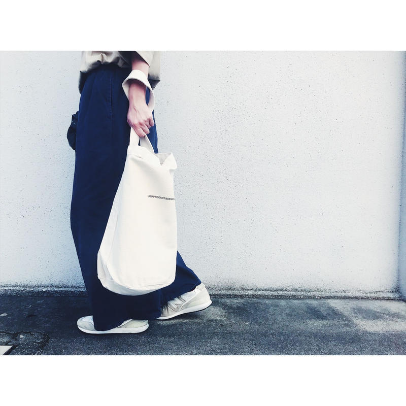 Heavy Canvas Bucket Logo Bag