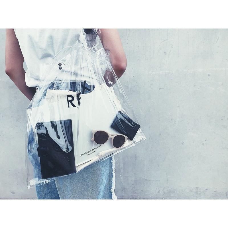 URU original Clear Shopper Bag