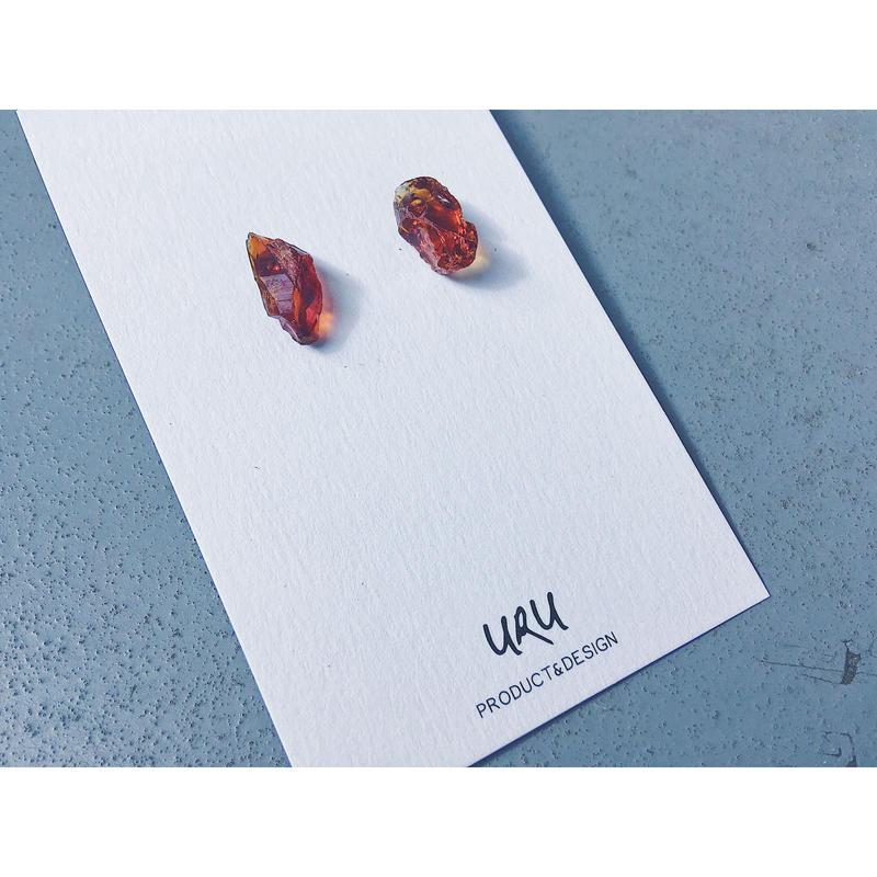 Citrine Stone Earrings