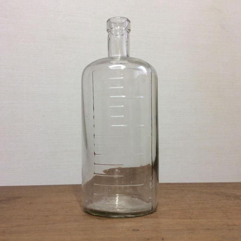 目盛り付 ガラス瓶