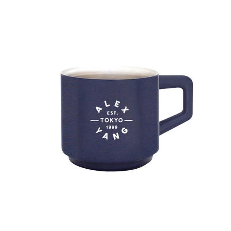[真空マグカップ]410ml ネイビー