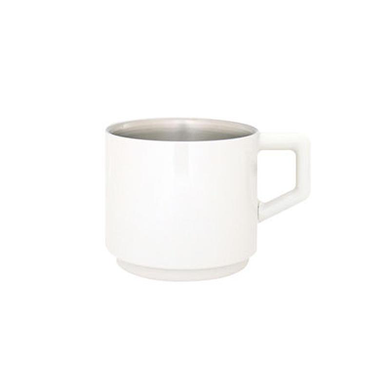[真空マグカップ]310ml ホワイト013-310-W