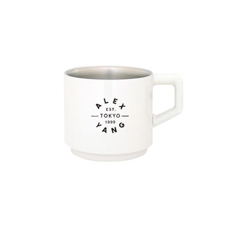 [真空マグカップ]310ml  ホワイト