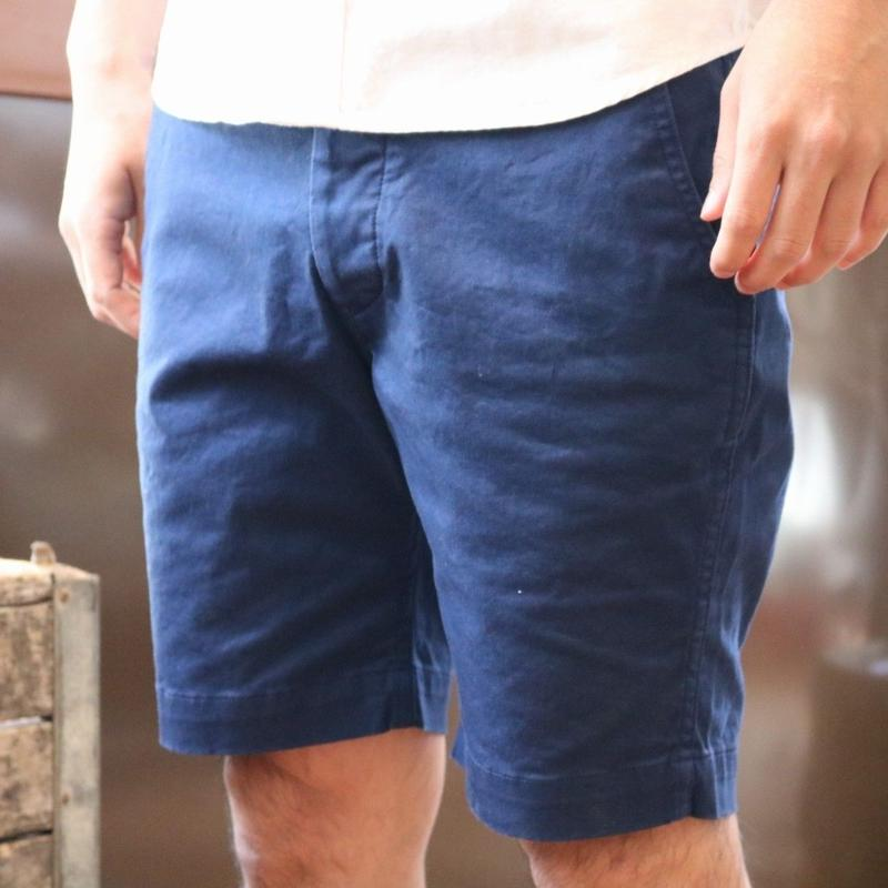 EMPIRE&SONS【PlainChinoShorts】VentileChinoStretch