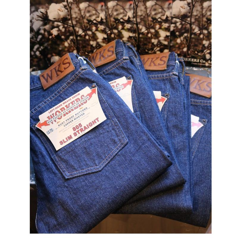 WORKERS【Lot.805】SuperSlimStraightJeans