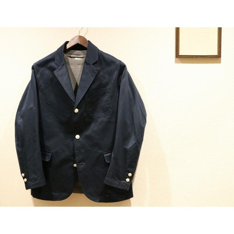 WORKERS【 NAVY PERUVIAN PIMA COTTON CHINO BLAZER】