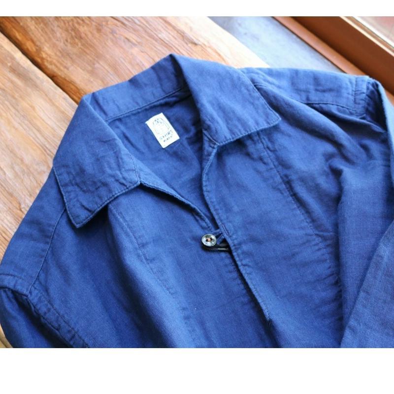 kato'【フィッシャーマンズシャツ】Size.L