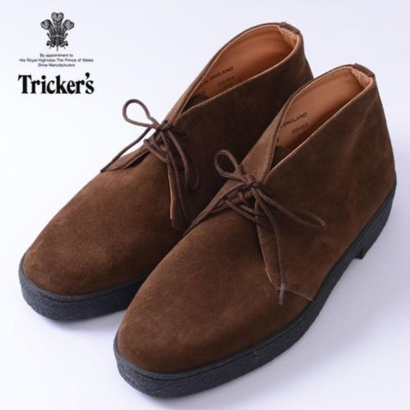 TRICKERS 【5265 MUD GUARD CHUKKA BOOT】