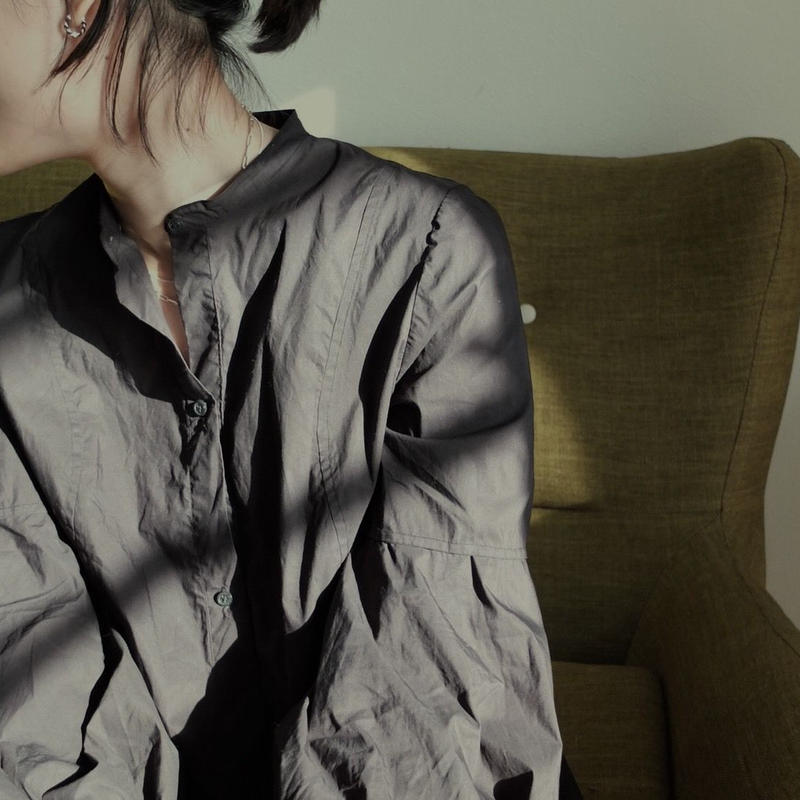 "shirt dress ""GRACE""  /black"