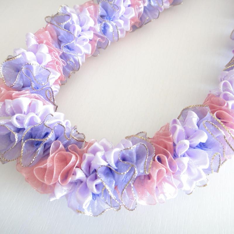 Lilac Bush Lei