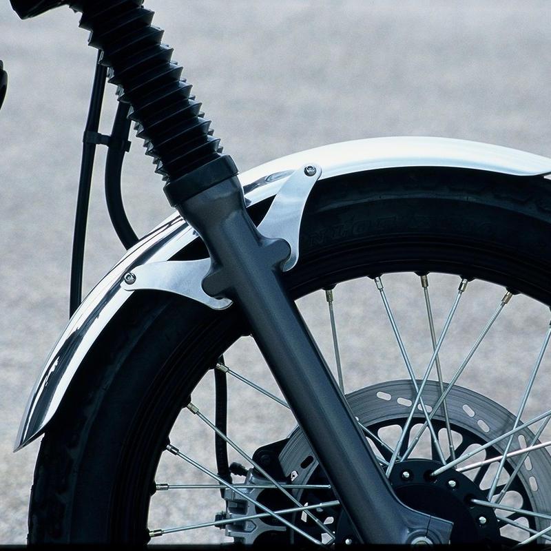 アルミフロントフェンダーロング(グラストラッカー) 品番B010102