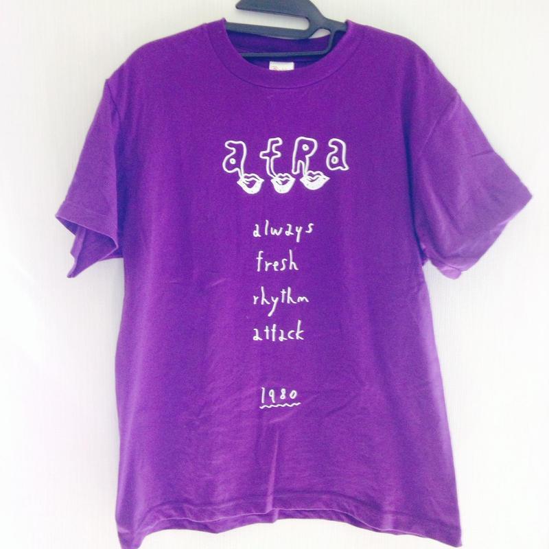 AFRA Tシャツ 紫