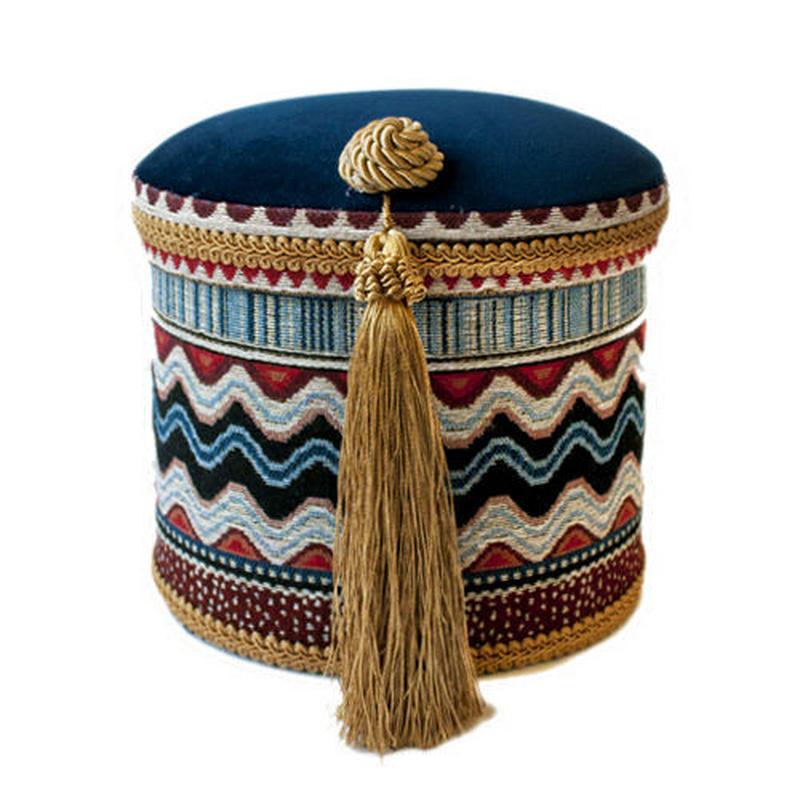Tribal Jacquardタッセルボックス《Large》