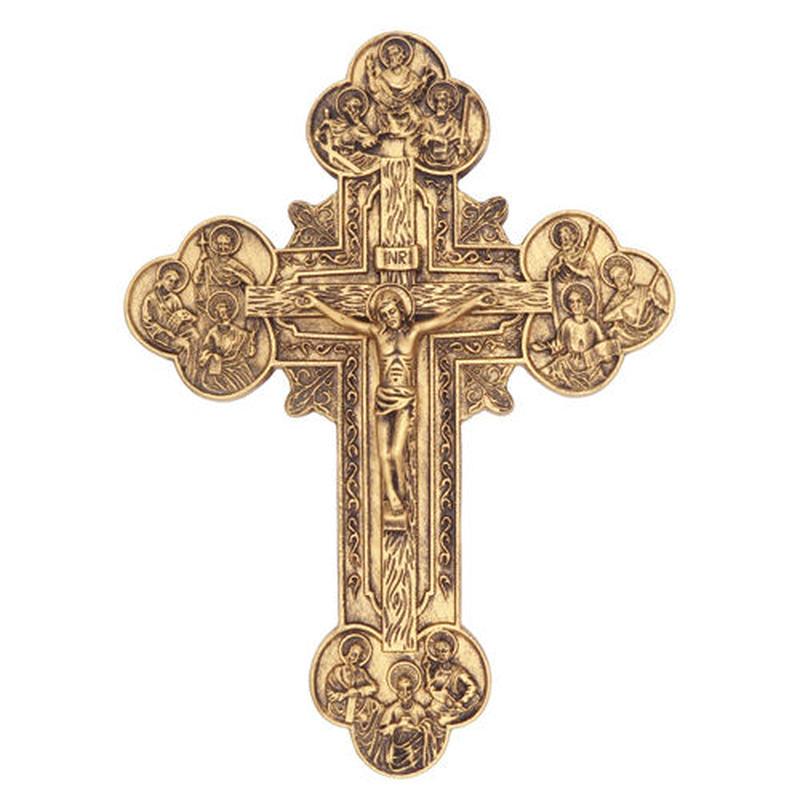 Cross ウォールオブジェ《GOLD/SILVER》