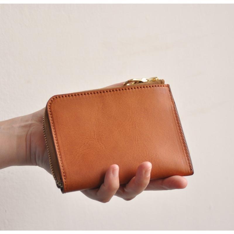 L字Zip財布