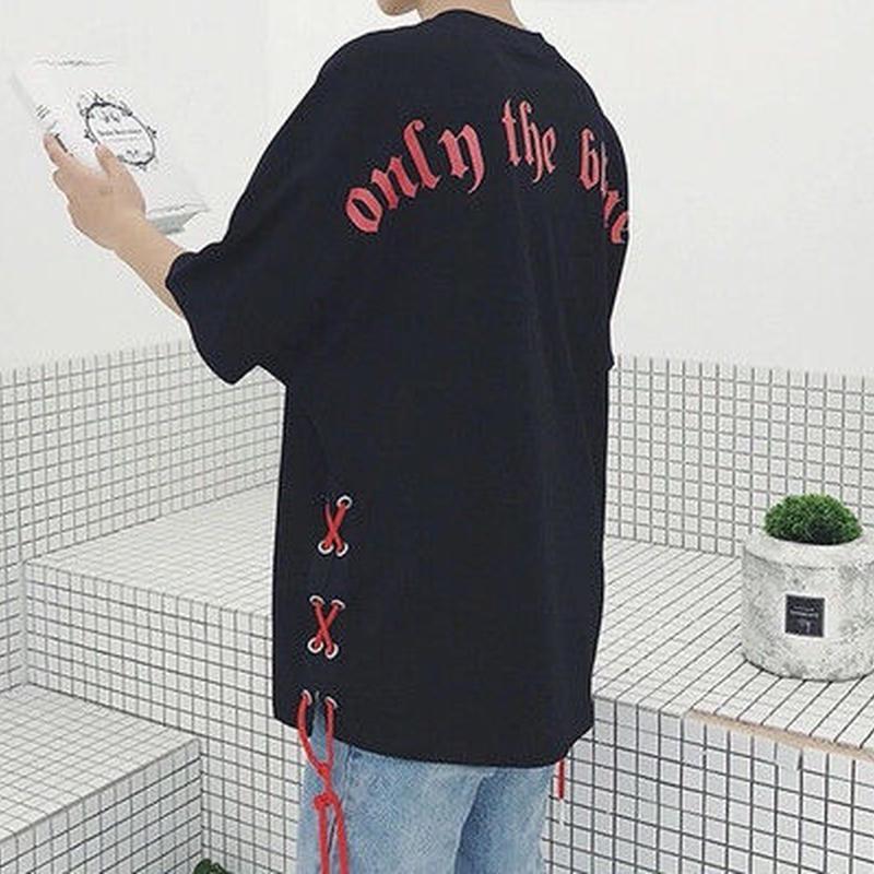 [売り切れ間近]OnlyTheデザインTシャツ 2カラー