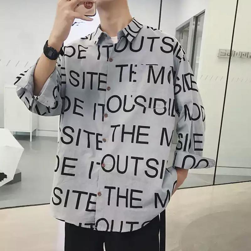 【大人気】SIDEデザインシャツ 3カラー