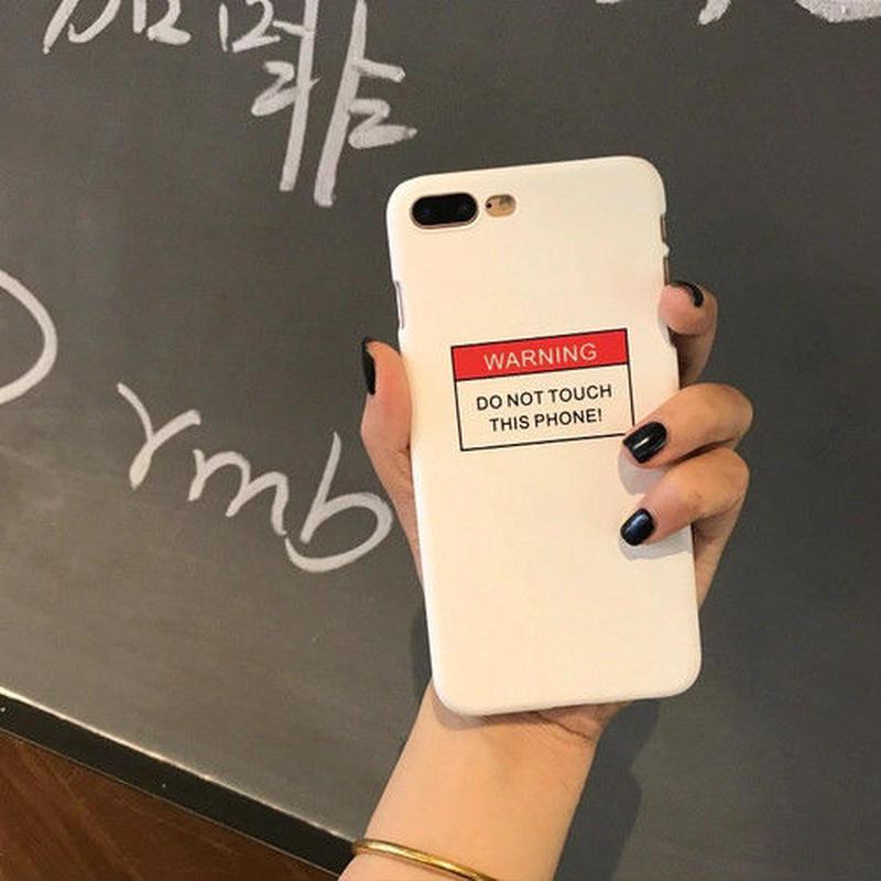 [HOT]Dont touchデザインアイフォンケース 2カラー