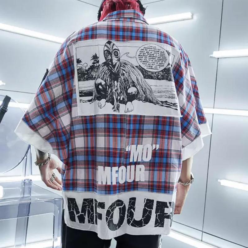 【売り切れ間近】MFOURデザインオーバーシャツ