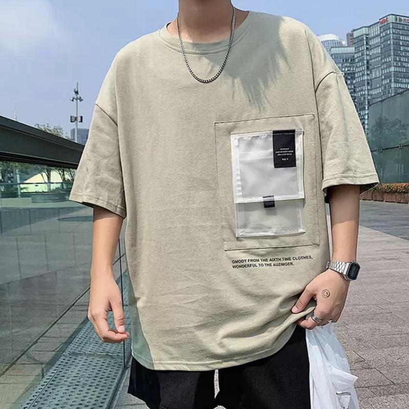 【大人気】ビックナイロンポケットTシャツ 2カラー