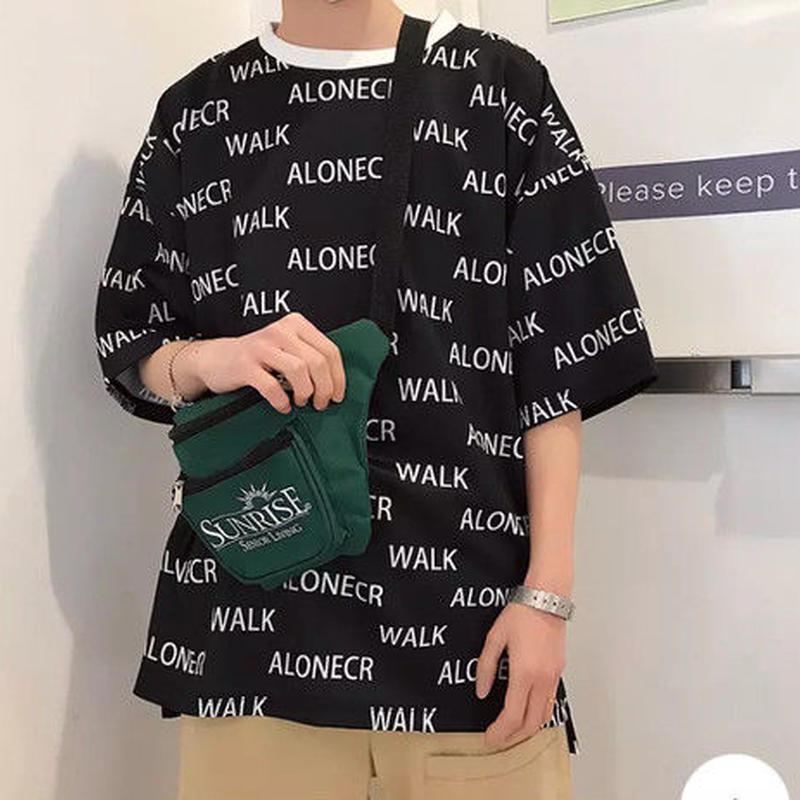 [HOT]WALKデザインビックサイズTシャツ 3カラー