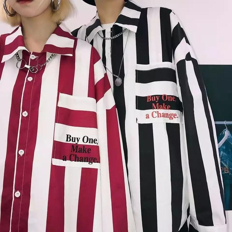 【STREET】Buy Oneデザインシャツ 3カラー