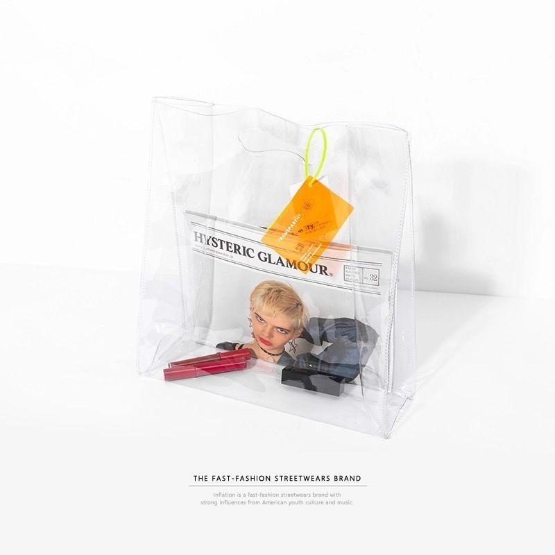【トレンド】クリアデザインクラッチバッグ