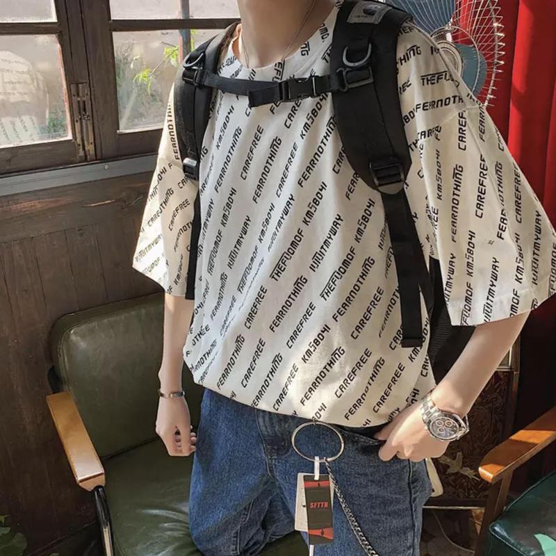 【数量誤発注のため格安に】THEワードデザインビックTシャツ 4カラー