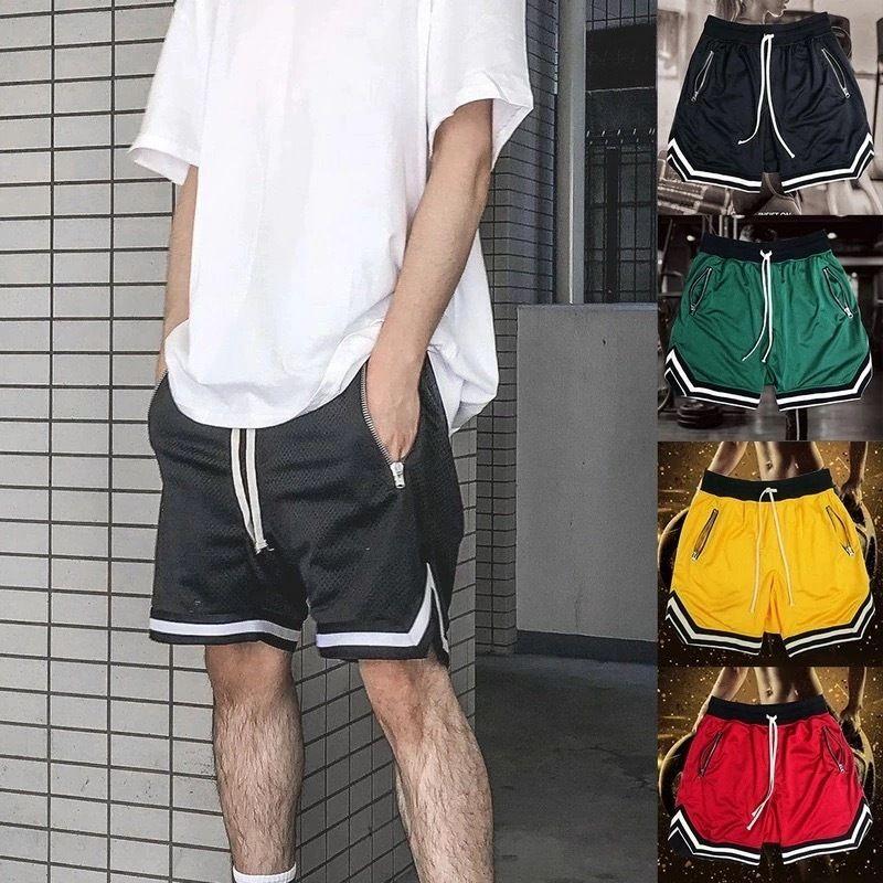 【COOL】ストリート風ハーフパンツ 2カラー