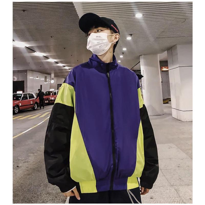 【DOPE】ストリート風カラージャケット 2カラー