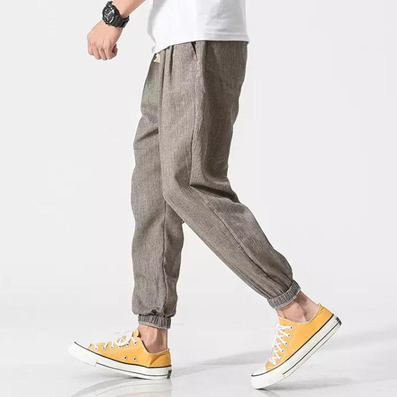 【限定販売】コットン風ジョガーパンツ 2カラー