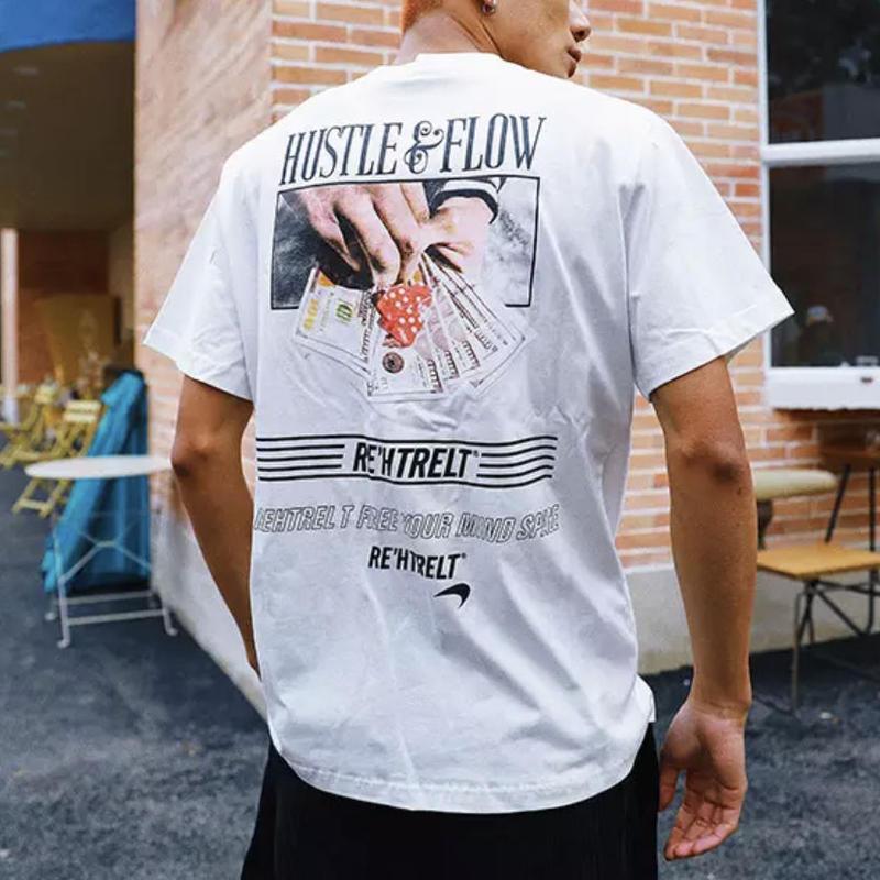 【大人気】HUSTLEデザインTシャツ 3カラー