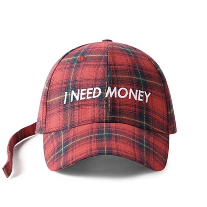 【大人気】I NEED MONEYキャップ 4カラー
