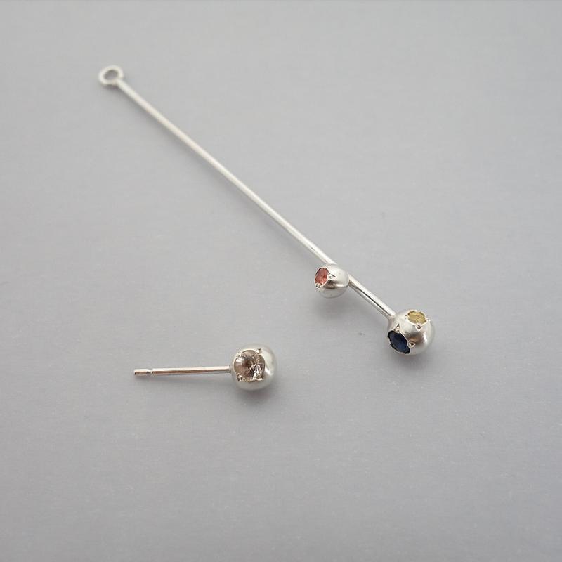 sprinkle pierce(stone series 片耳)