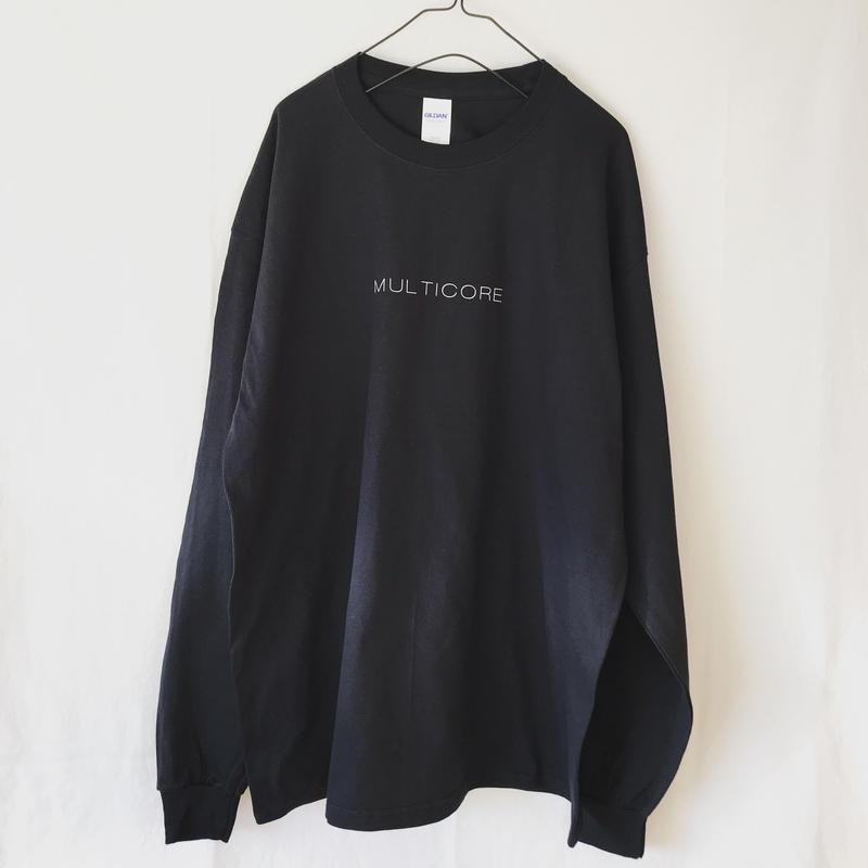 MULTICORE ロンT  ブラック (XL)