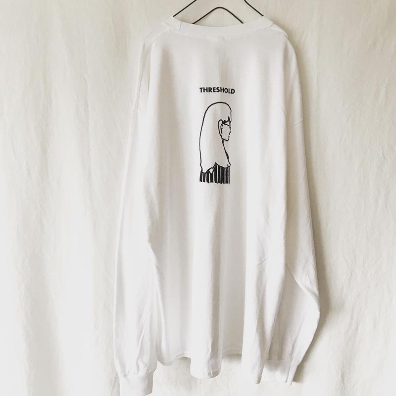 THRESHOLDイラストロンT ホワイト XL
