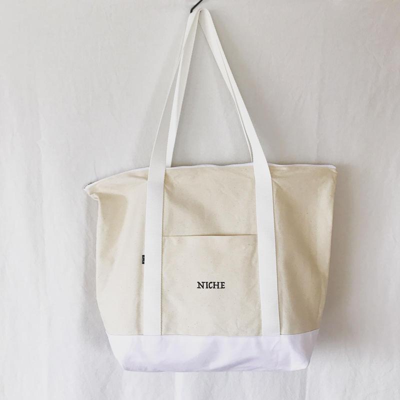 NICHE BAG50  生成り×ホワイト (ラスト1)
