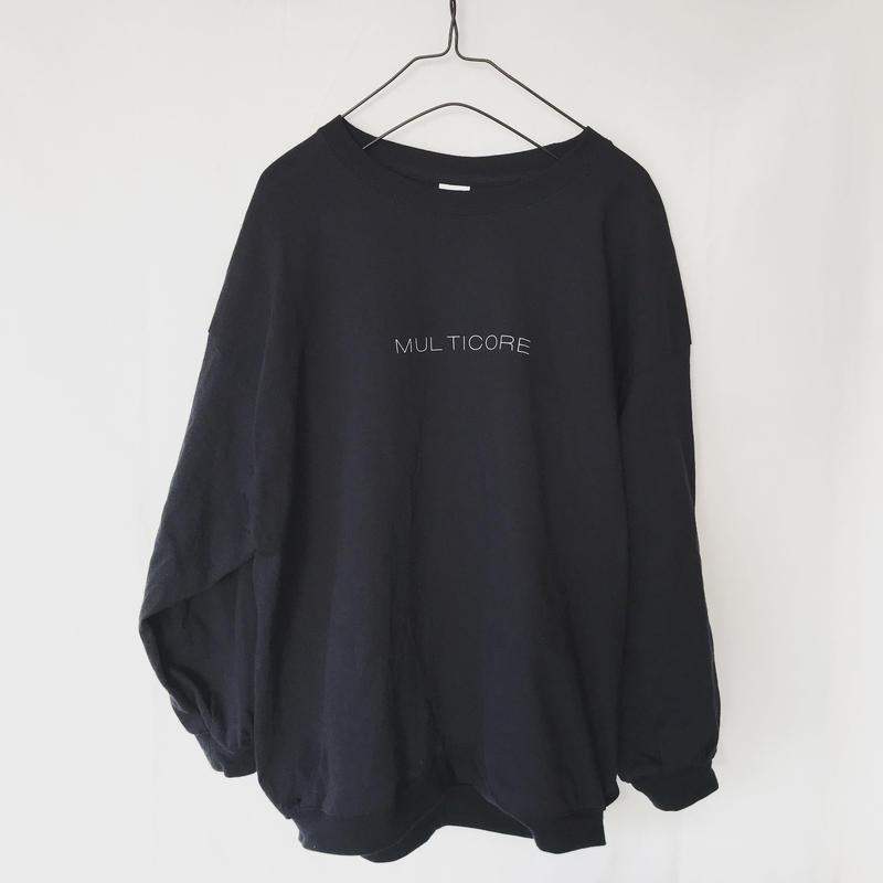 /R/ MULTICORE ロゴ ロンT ブラック